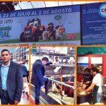 Eliecer Avila recibido en Buenos Aires por la Diputada Nacional Cornelia Schmidt-Liermann