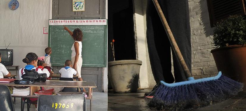 maestra o muchacha