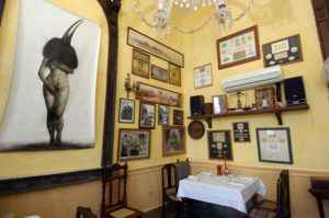 Restaurante privado La Guarida, en La Habana