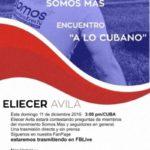 Encuentro a lo cubano con Eliecer Ávila