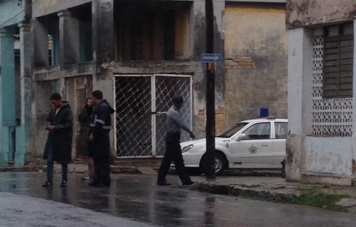 Operativo 14 de Enero, Frente a casa de Eliécer Ávila