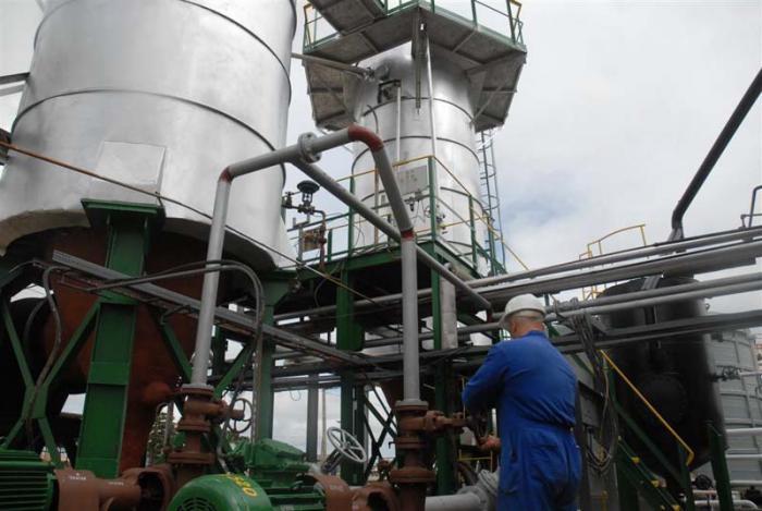 Refineria de aceite