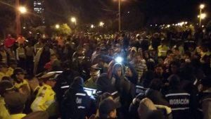 Crisis de cubanos Quito