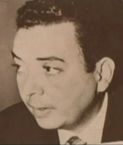 Manolo Ray en su juventud